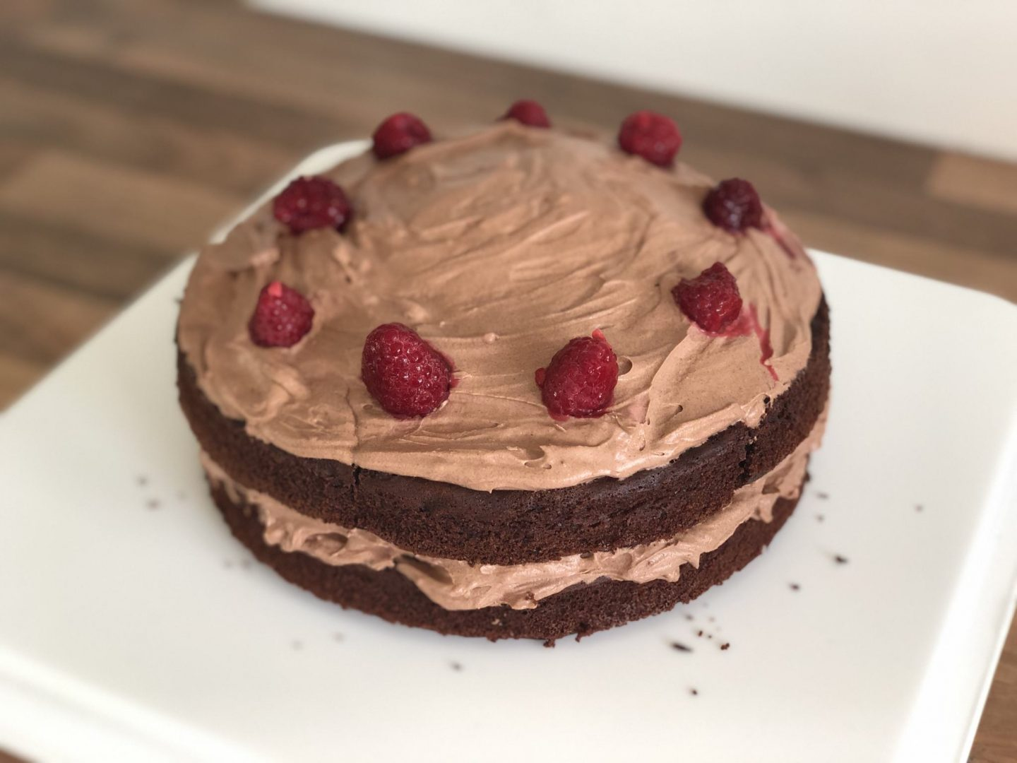 kirstie pickering dairy free chocolate cake recipe vegan baking food instagram inspiration foodstagram healthy raspberries blog blogger