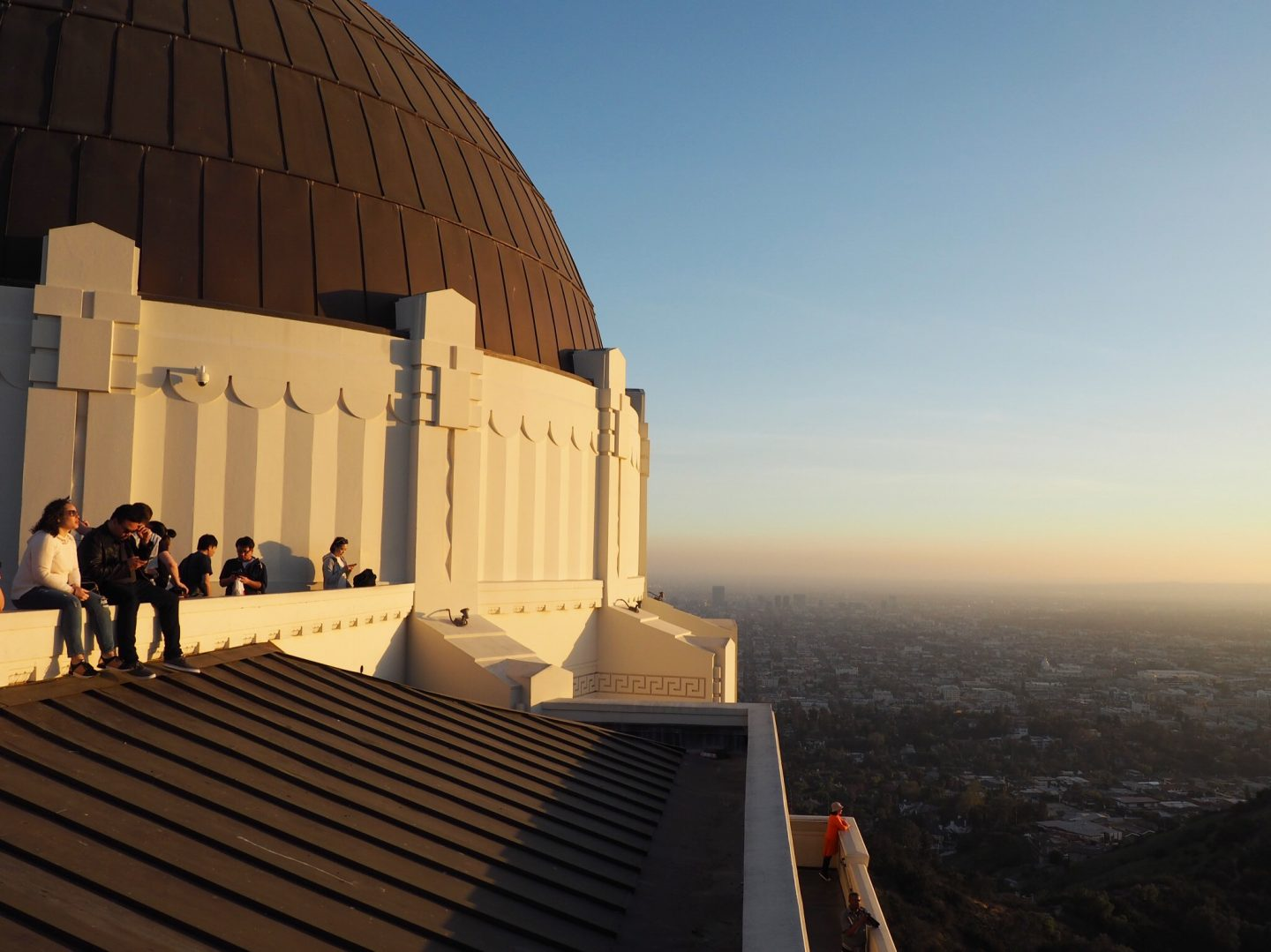 los angeles LA california travel sunset griffith observatory