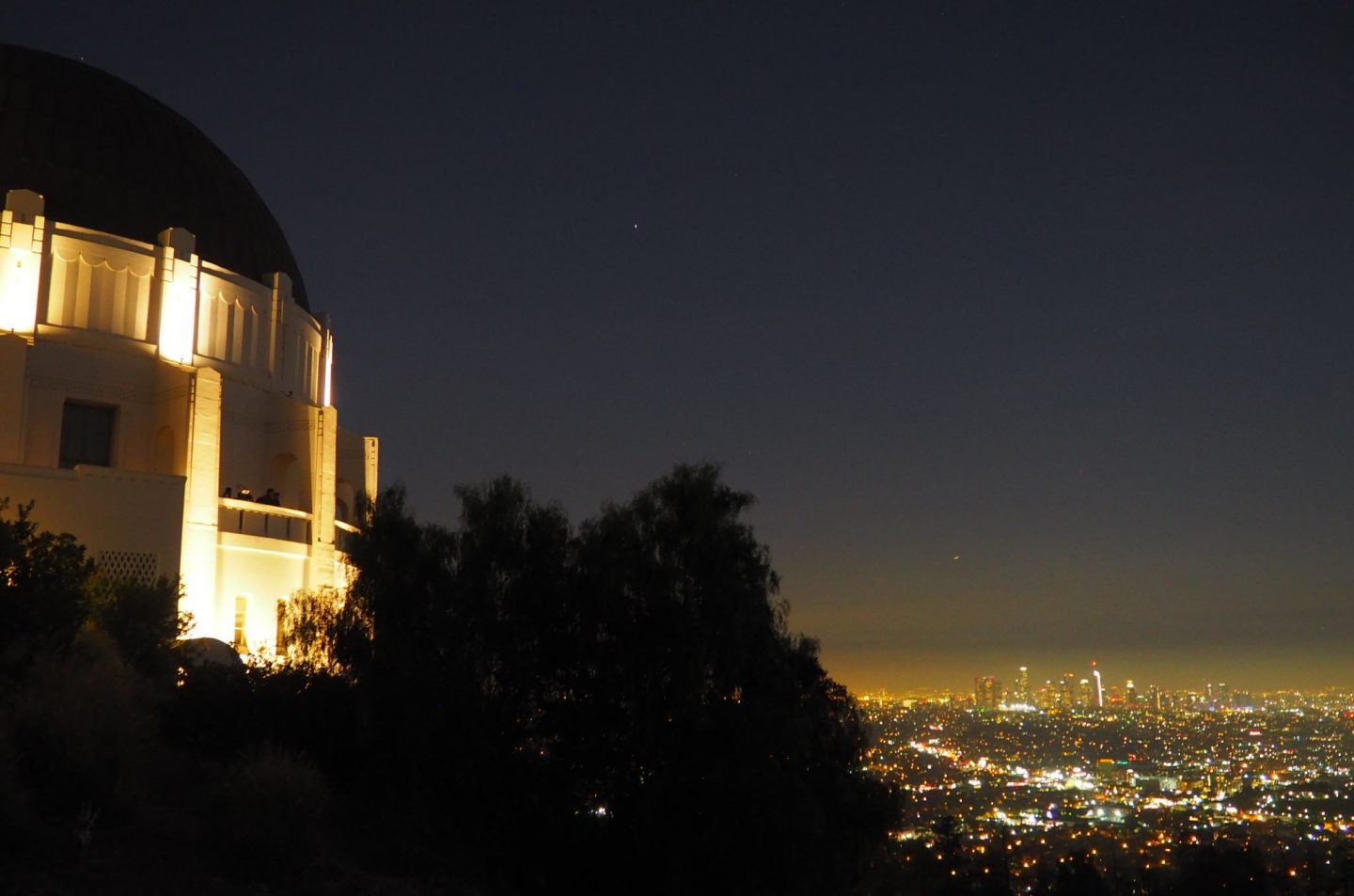 los angeles LA california travel sunset griffith observatory downtown